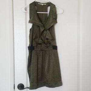 RACHEL Roy Olive Green Dress